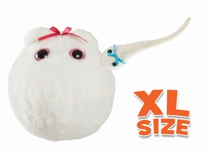 XL Giant Microbes Egg / Sperm Cell (eicel/spermacel)