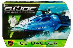 G.I. Joe: Ice Dagger met Frostbite actiefiguur