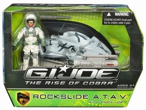 G.I. Joe: Rockslide A.T.A.V. met Snow Job actiefiguur