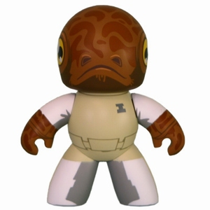 Mighty Muggs - Star Wars - Exclusive - Admiral Ackbar