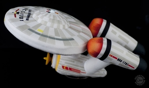 Star Trek USS Enterprise NCC-1701 pluche 25 cm