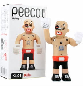 Peecol van Eboy: KL01 Killa (Kidrobot)