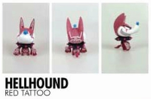 Little Trickers serie 1: Hellhound (Red Tattoo)