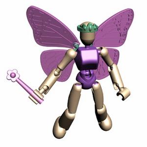 Stikfas Beta Female Fairy