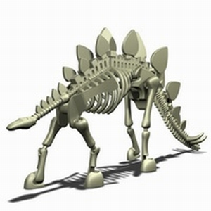 Stikfas Dinosaur Stegosaurus