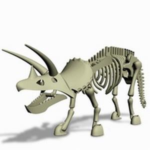 Stikfas Dinosaur Triceratops