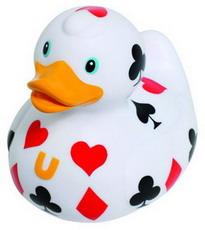 BUD Poker duck