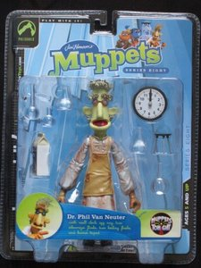 Dr Phil van Neuter Action Figure from the Muppets Tonight (Muppetshow)