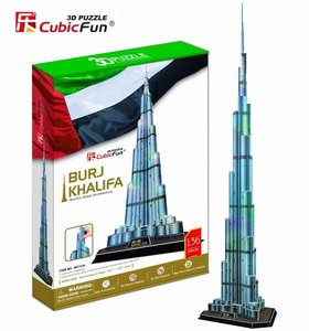 3D Puzzel: Burj Khalifa (Cubic Fun)