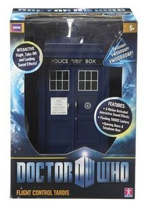 Doctor Who 11th Doctor Flight Control Tardis speelset