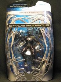 Spiderman 3 zwart exclusive limited edition