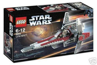 LEGO 6205 Star Wars V-Wing fighter nummer 6205