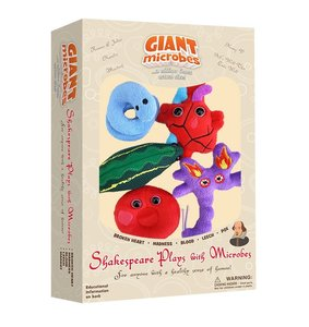 Giant Microbes Theme Box Shakespeare Plays With Microbes