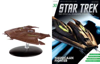 Star Trek Eaglemoss 30 Nausicaan Fighter