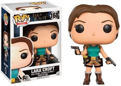 Funko POP! Games Tomb Raider 168 Lara Croft
