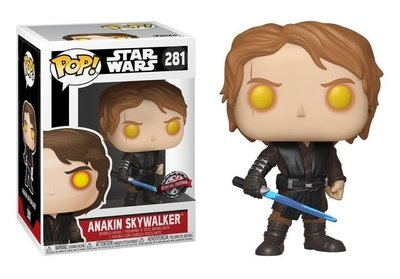 Funko Pop! vinyl figuur - Star Wars Revenge of the Sith 281 Anakin Skywalker Dark Side Special Edition