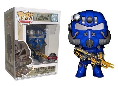Funko Pop! Vinyl figuur - Games Fallout 370 T-51 Power Armor Special Edition
