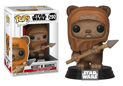 Funko Pop! Vinyl figuur - Star Wars Return of the Jedi 290 Wicket W. Warrick