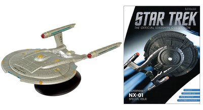 Star Trek Eaglemoss XL4 USS Enterprise NX-01