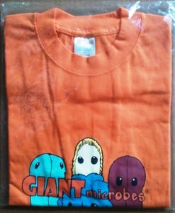Giant Microbes T-shirt (Oranje) XL