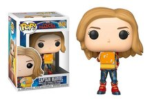 Funko Pop! Vinyl figuur - Marvel Captain Marvel 444 Capt. Marvel Lunchbox and Tesseract