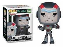 Funko Pop! Vinyl figuur - Animatie Rick and Morty 566 Rick in Purge Suit