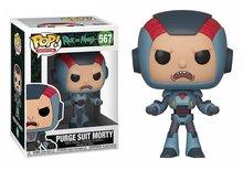 Funko Pop! Vinyl figuur - Animatie Rick and Morty 567 Morty in Purge Suit