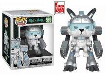 Funko Pop! Vinyl figuur - Animatie Rick and Morty 569 Snowball in Exoskeleton