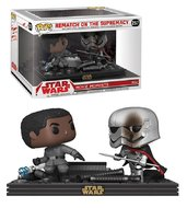 Funko Pop! Vinyl figuur - Star Wars The Last Jedi Movie Moments 257 Finn, Captain Phasma Rematch of the Supremacy