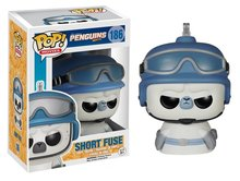 Funko Pop! Vinyl figuur - Animatie Penguins of Madagascar 165 Short Fuse