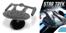 Eaglemoss model - Star Trek The Official Starships Collection XL Edition XL12 USS Thunderchild Akira Class NCC-63549
