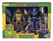 Neca actiefiguur - Actie Teenage Mutant Ninja Turtles Cartoon 54079 Raphael vs. Foot Soldier