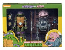 Neca actiefiguur - Actie Teenage Mutant Ninja Turtles Cartoon 54078 Donatello vs. Krang