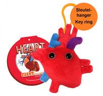 Giant Microbes sleutelhanger hart (Heart)