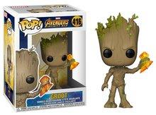 Funko POP! Vinyl Marvel Avengers Infinity War 416 Groot with Stormbreaker