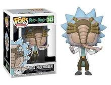 Funko Pop! Vinyl figuur - Animatie Rick and Morty 343 Rick (Facehugger) Exclusive