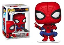 Funko Pop! Vinyl figuur - Marvel Spider-man Far From Home 468 Spiderman Hero Suit